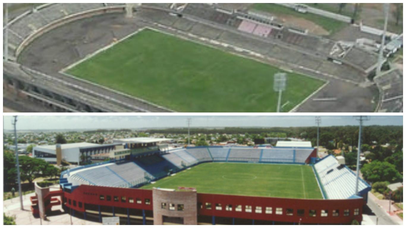 Segunda fecha torneo clausura los grandes juegan en el for Puerta 20 estadio racing