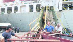 Partió de Montevideo un barco con 11.250 vientres con destino  a China